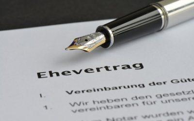 Der Ehevertrag – Die fünf häufigsten Fragen und Antworten