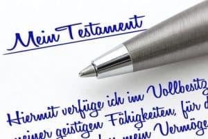 Wünschen Sie eine Beratung, bevor Sie Ihr Testament aufsetzen?
